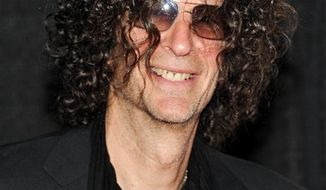 FILE - In a Dec. 1, 2010 file photo, Howard Stern attends the Quentin Tarantino Friars Club Roast at the New York Hilton Hotel in New York. Stern  announced Thursday, Dec. 9, 2010 that he has signed a new 5-year contract with SiriusXM Radio. (AP Photo/Evan Agostini)