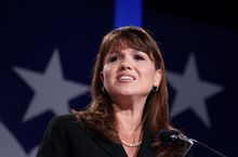 "Former Senate candidate Christine O'Donnell, Delaware Republican, contributed two of the quotes on a Yale Law School librarian's ""top-10 quotes of the year."" (Associated Press)"