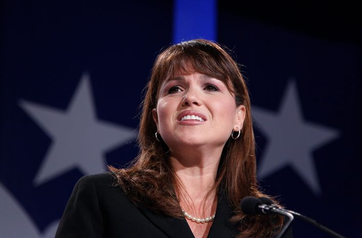 """Former Senate candidate Christine O'Donnell, Delaware Republican, contributed two of the quotes on a Yale Law School librarian's """"top-10 quotes of the year.&quot"""