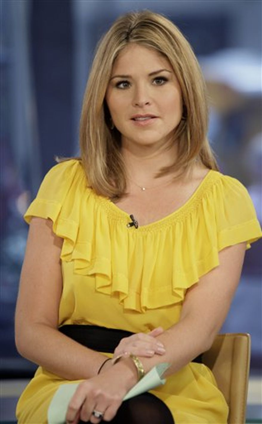 """**FILE** Jenna Bush Hager, special contributor for the NBC """"Today"""" television program, appears on the show in New York on Oct. 8, 2009. (Associated Press)"""