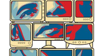 Illustration: Obama's FCC by Linas Garsys for The Washington Times
