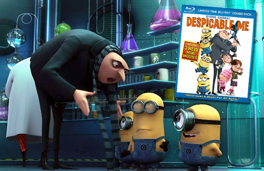 Universal Studios Home Entertainment's Despicable Me is now on Blu-ray.