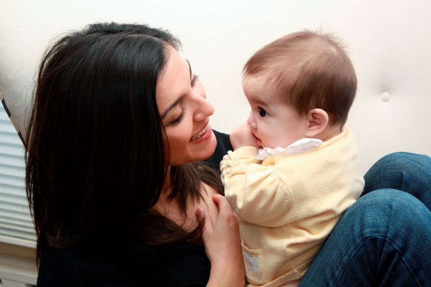 Associated Press Rachel Campos-Duffy, wife of Rep.-elect Sean Duffy, Wisconsin Republican, holds daughter Paloma in February 2009.