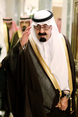 ASSOCIATED PRESS King Abdullah of Saudi Arabia is trying to move a mosque project away from ground zero in New York