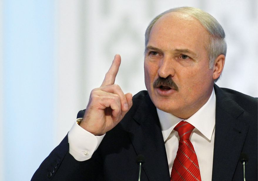 Belarusian President Alexander Lukashenko had harsh words on Monday, Dec. 20, 2010, for those protesting the country's disputed election.