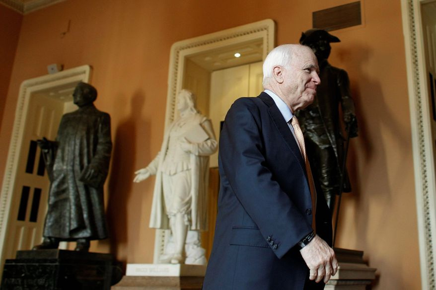 Sen. John McCain, Arizona Republican (AP Photo)