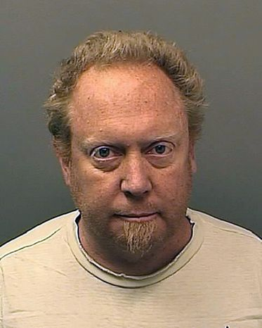 Philip Ray Greaves II was arrested on Monday, Dec. 20, 2010, in Colorado on a Florida obscenity charge. (AP Photo/Pueblo County [Colo.] Sheriff's Office)
