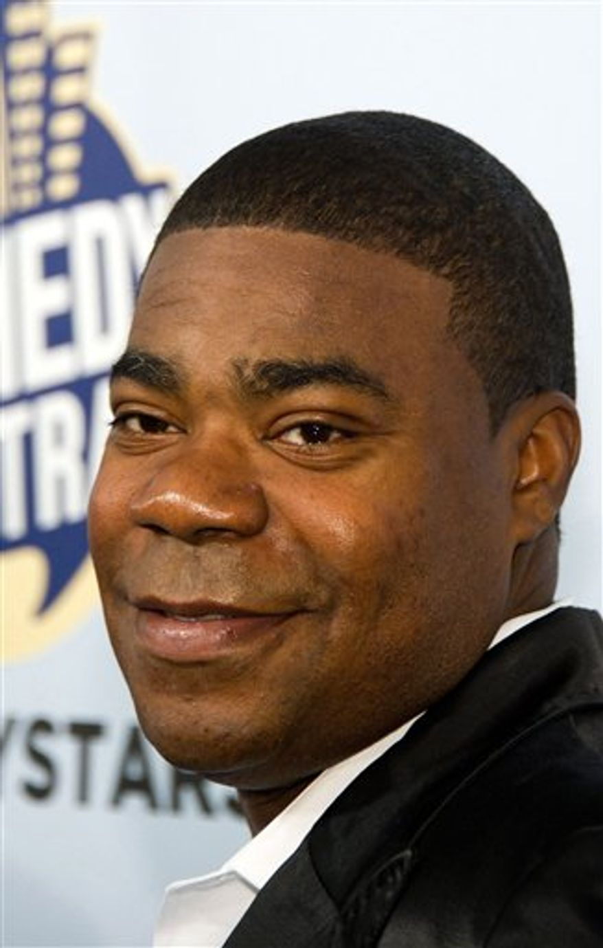 FILE - In this Oct. 2, 2010 file photo, Tracy Morgan attends Comedy Central's 'Night Of Too Many Stars: An Overbooked Concert For Autism Education' at the Beacon Theatre in New York. (AP Photo/Charles Sykes, File)