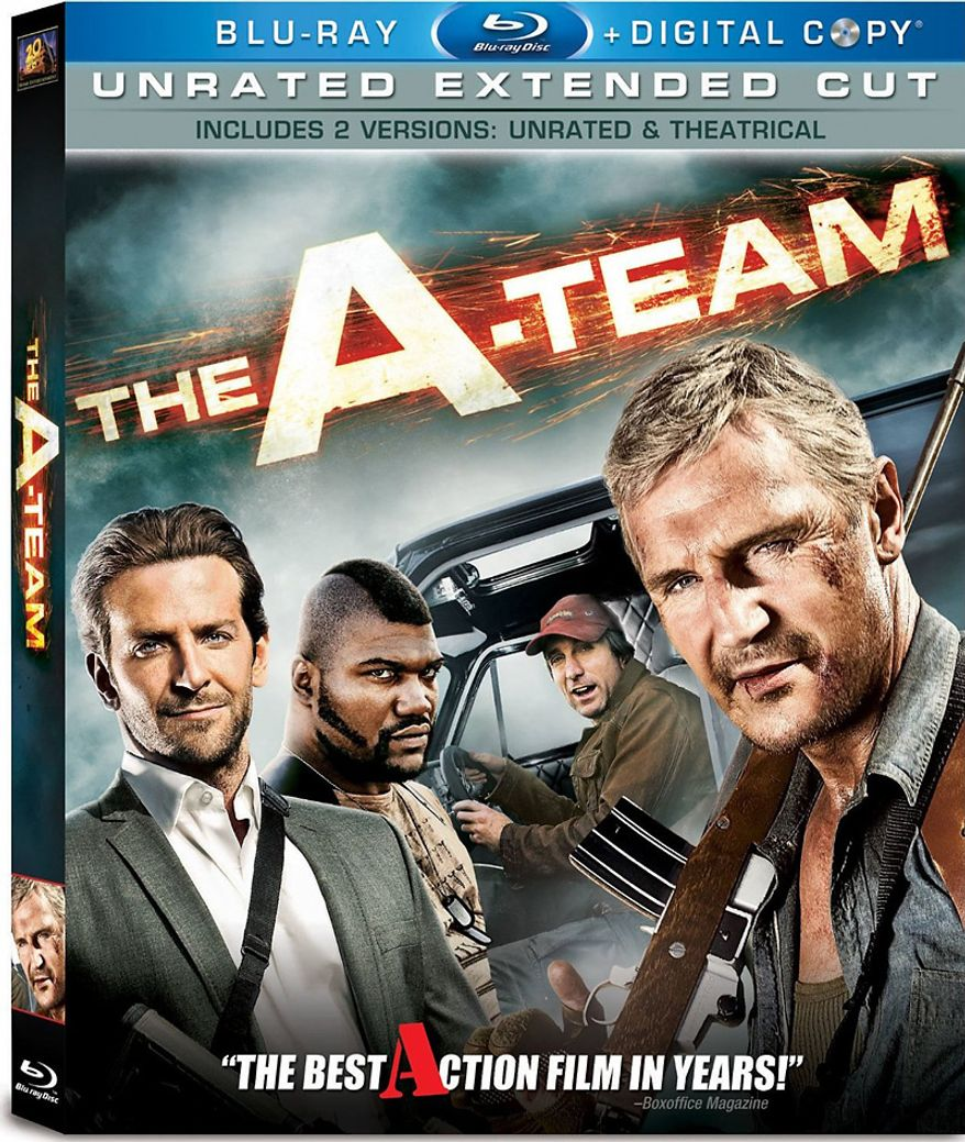 20th Century Fox Home Entertainment's The A-Team: Unrated Extended Cut debuts on Blu-ray.