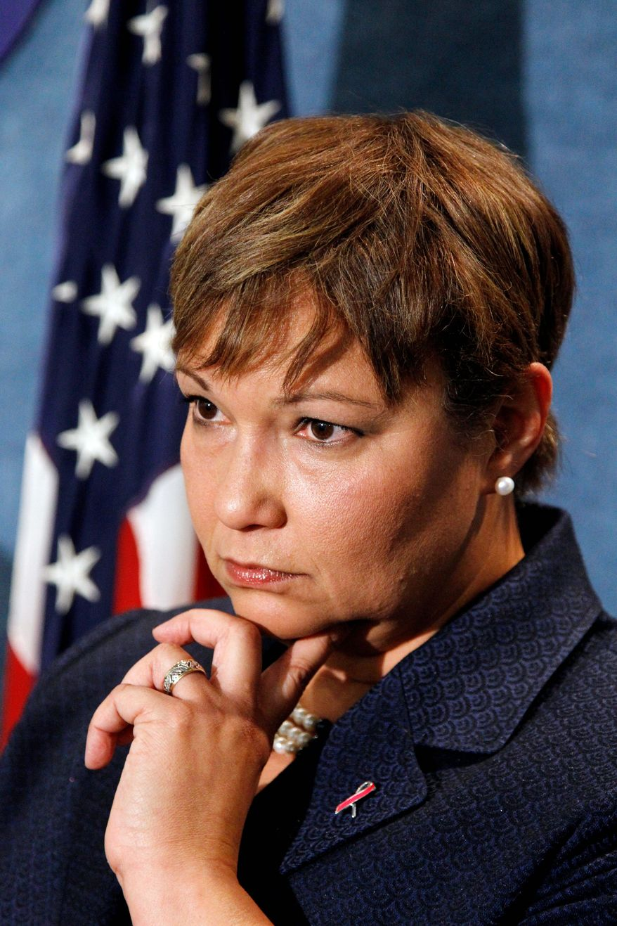 Associated Press EPA chief Lisa P. Jackson says greenhouse gases threaten the health of Americans and contribute to climate change.