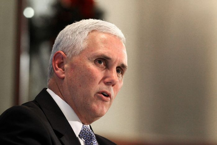 """Why are we doing two years?"" said Rep. Mike Pence, Indiana Republican. ""Well, there is an election in two years. I get that. There are people [who] for whatever reasons want to re-debate this in two years. I get that. I just don't get how it actually gets people back to work."" (Associated Press)"