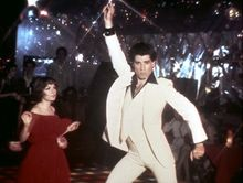 "John Travolta, here with Karen Lynn Gorney, stars in the 1977 disco musical ""Saturday Night Fever,"" which the Library of Congress will preserve as part of its National Film Registry. (AP Photo/Paramount Pictures)"