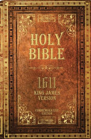 A commemorative reprint of the 1611 King James Version of the Holy Bible (Associated Press) ** FILE **