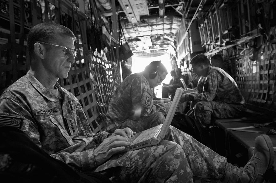 Army Gen. Stanley A. McChrystal, despite hands-on leadership in Afghanistan, lost his job in June after unflattering remarks about administration officials appeared in Rolling Stone magazine. (Associated Press)