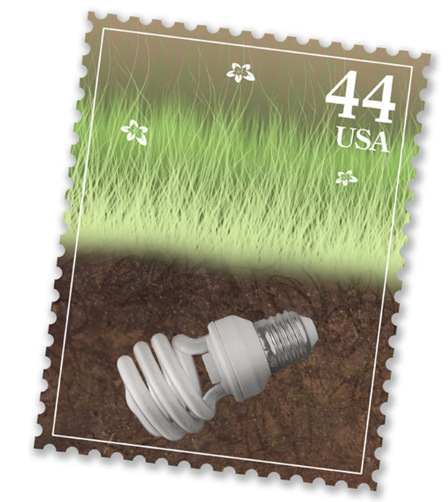 Illustration: Light bulb by Greg Groesch for The Washington Times