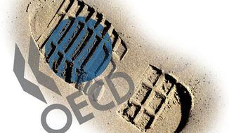 Illustration: OECD by Greg Groesch for The Washington Times