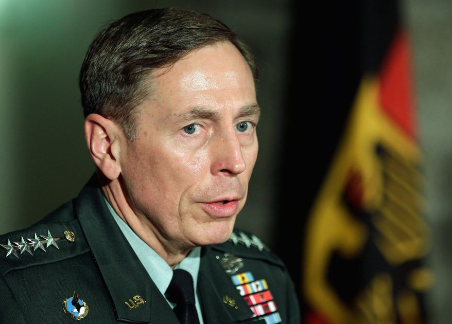 """""""The sheer losses that they've sustained are tremendous. That in and of itself is very significant, and it's caused enormous stress on the central nervous system of the command and control structure,"""" Army Gen. David H. Petraeus said. (Associated Press)"""