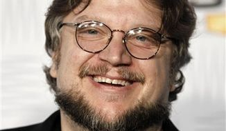 "FILE - In this Dec. 11, 2010 file photo, writer-director Guillermo del Toro arrives at Spike TV's Video Game Awards  in Los Angeles. Del Toro  is working on the ""Incredible Hulk"" pilot for ABC. (AP Photo/Matt Sayles)"