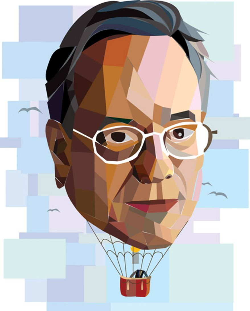 Illustration: Stuart Rothenberg by Linas Garsys for The Washington Times
