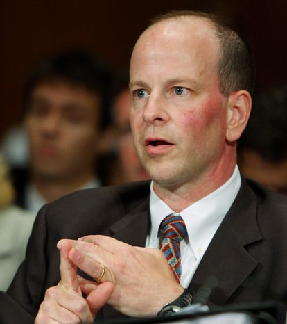 **FILE** Assistant Attorney General David Kris. (Associated Press)