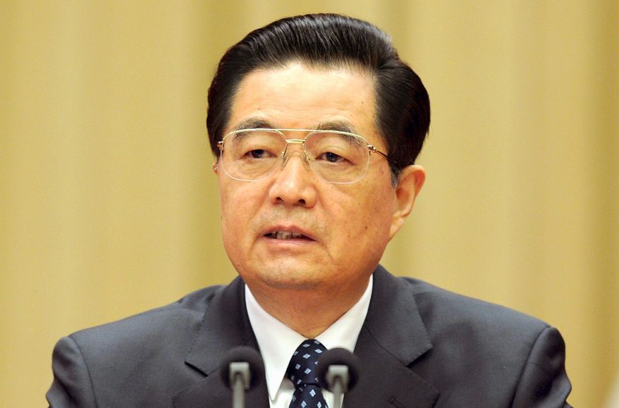 **FILE** Chinese President Hu Jintao (Associated Press)