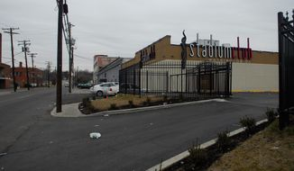 **FILE** The Stadium Club, a strip club n Northeast Washington (J.M. Eddins Jr./The Washington Times)