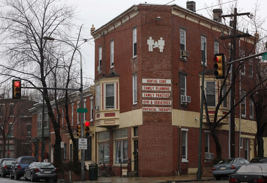 A Feb. 23, 2010, file photo of the Women's Medical Society in Philadelphia. Abortion doctor Kermit Gosnell, who catered to minorities, immigrants and poor women at the facility, was charged Wednesday Jan. 19, 2011, with eight counts of murder in the deaths of a patient and seven babies who were born alive and then killed with scissors, prosecutors said Wednesday. (AP Photo/Matt Rourke, File)
