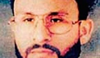 Abu Zubaydah, an alleged facilitator for al Qaeda, has received so-called victim status in the criminal investigation into the CIA prison in Poland. (Associated Press)
