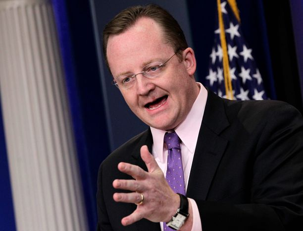 """I think the first lady was proud to stand with the country's largest retailer,"" White House spokesman Robert Gibbs said Thursday. (Associated Press)"