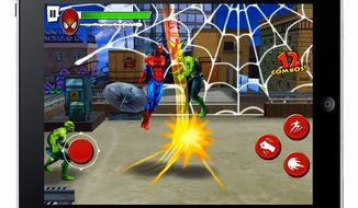 Ultimate Spider-Man: Total Mayhem HD from Gameloft fro the iPad