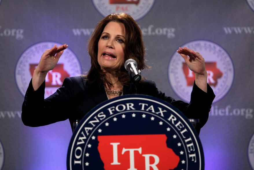 "Rep. Michele Bachmann independently scheduled her own GOP response. In prepared remarks released to the press, she charged that Mr. Obama has ushered in an ""unprecedented explosion of government spending and debt ... unlike anything we have seen in the history of our country."" (Associated Press)"