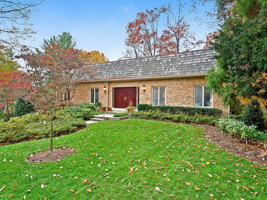 The home at 5802 Chain Bridge Forest Court in McLean is on the market for $1,069,000. The five-bedroom, three-bath home was built in 1972. It is at the end of a cul-de-sac with three other homes.