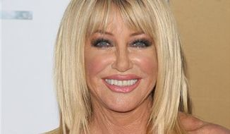 "** FILE ** In this May 24, 2010, file photo, actress Suzanne Somers attends the premiere of ""Sex And The City 2"" at Radio City Music Hall in New York. (AP Photo/Peter Kramer, file)"