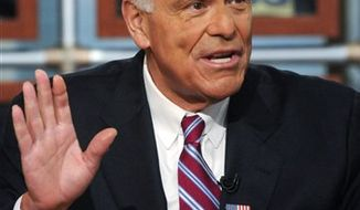 "FILE - In this April 18, 2010 file photo provided by ""Meet the Press,"" former Pennsylvania Gov. Ed Rendell appears on ""Meet the Press'"" at the NBC studios in Washington. NBC News has named Rendell as a political analyst, the network announced Tuesday, Jan. 25, 2011. (AP Photo/Meet The Press, William B. Plowman, File) MANDATORY CREDIT:  WILLIAM B. PLOWMAN, MEET THE PRESS, NO SALES."