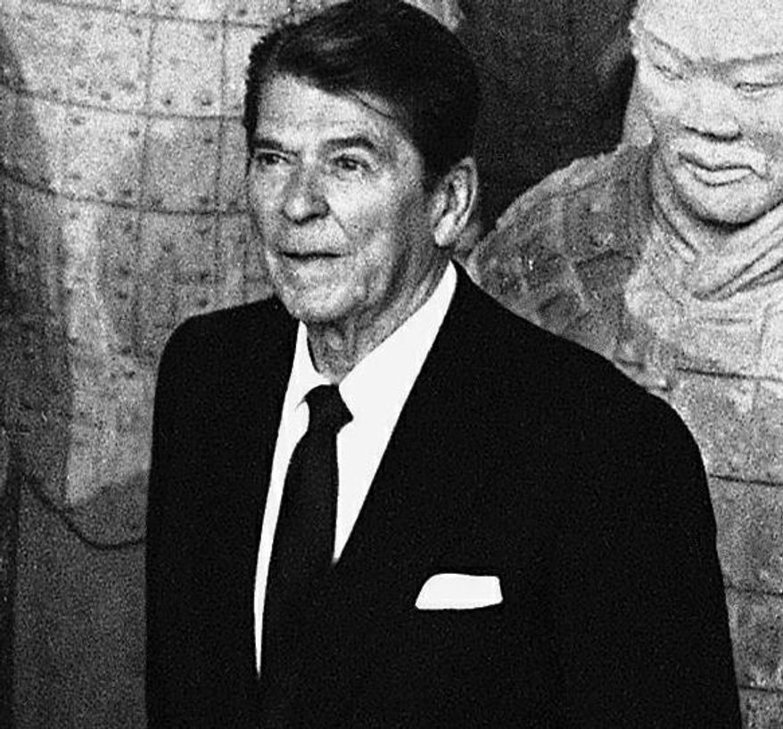 """The media have been using the term """"Reaganesque"""" more lately with the approaching centennial of the birth of former President Ronald Reagan."""