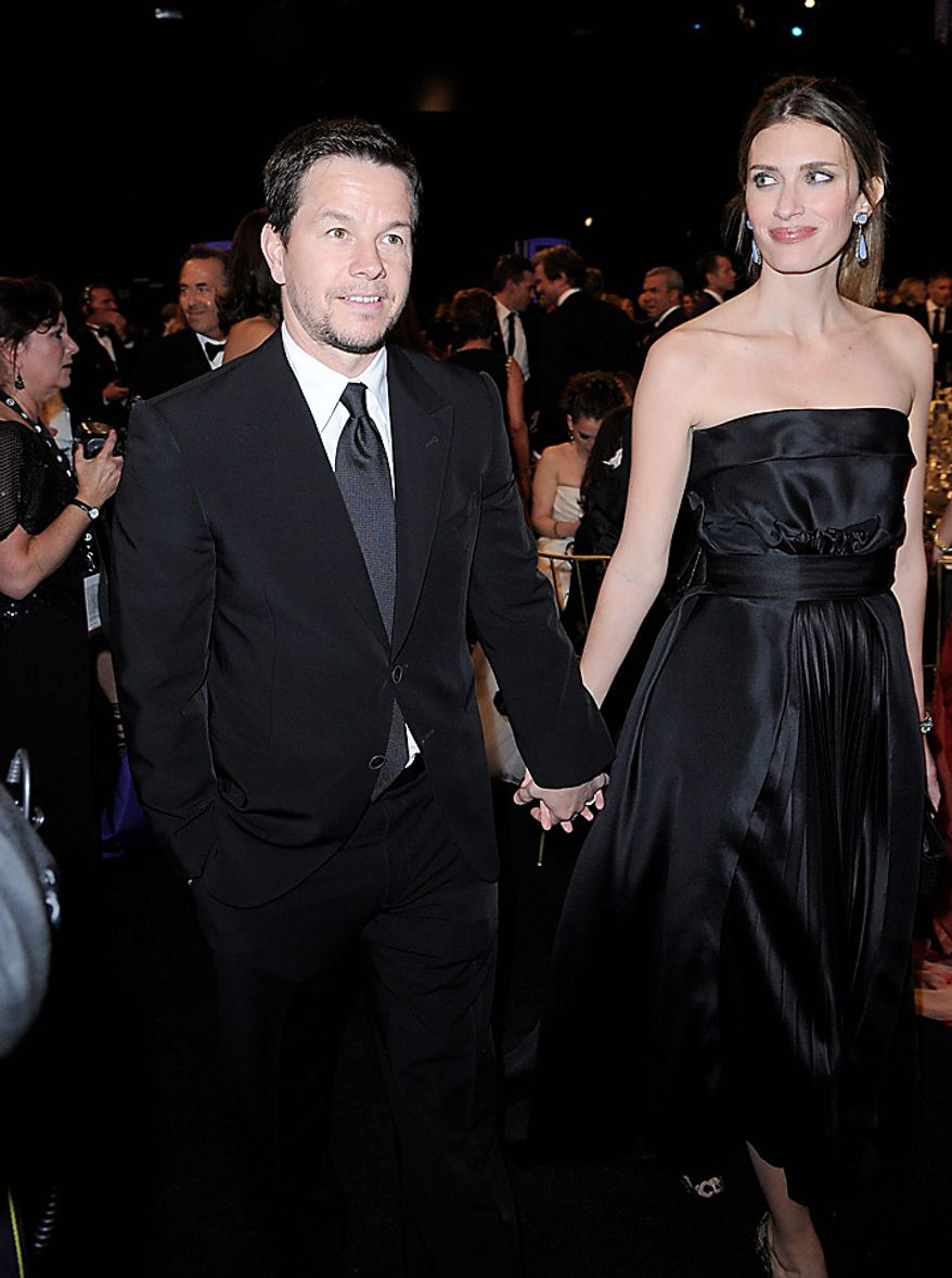 Mark Wahlberg, left, and Rhea Durham at the 17th Annual Screen Actors Guild Awards on Sunday, Jan. 30, 2011, in Los Angeles. (AP Photo/Mark J. Terrill)