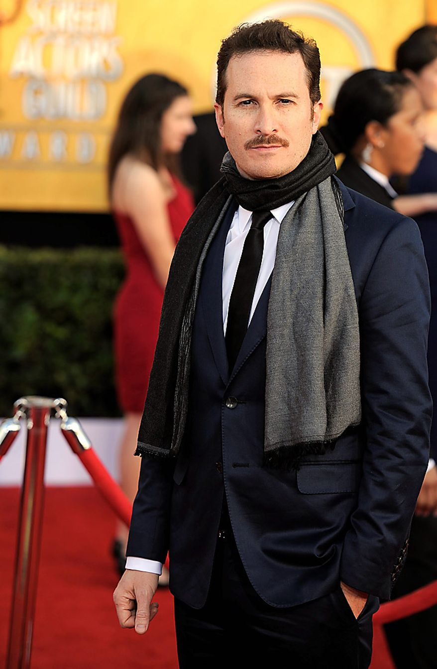 Darren Aronofsky arrives at the 17th Annual Screen Actors Guild Awards on Sunday, Jan. 30, 2011, in Los Angeles. (AP Photo/Chris Pizzello)