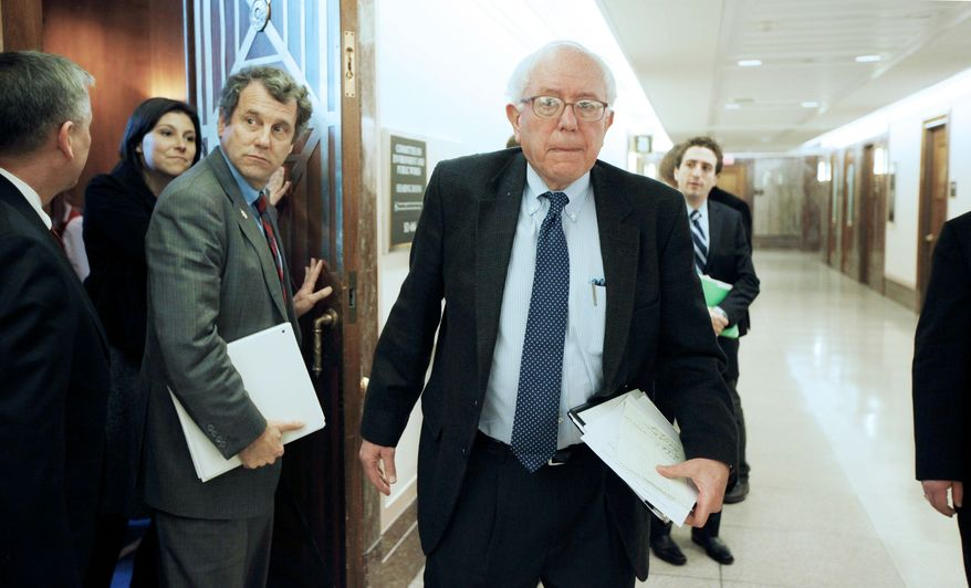 Sen. Bernard Sanders of Vermont says the Pentagon has continued to pay contractors found to be defrauding the U.S. government. (Associated Press)