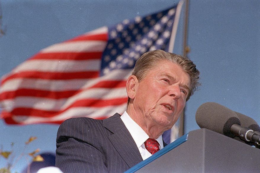 **FILE** Ronald Reagan (Associated Press)