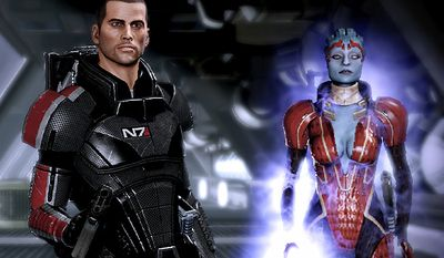 Commander Shepard works with a variety of team members in Mass Effect 2, now available for the PlayStation 3.
