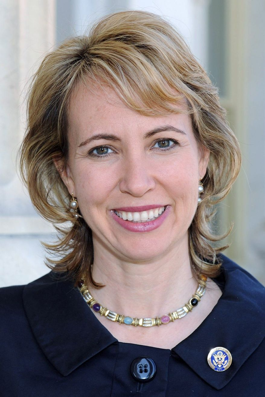 Rep. Gabrielle Giffords, Arizona Democrat