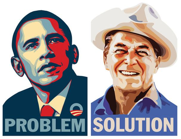 Illustration: Problem and Solution by Greg Groesch for The Washington Times