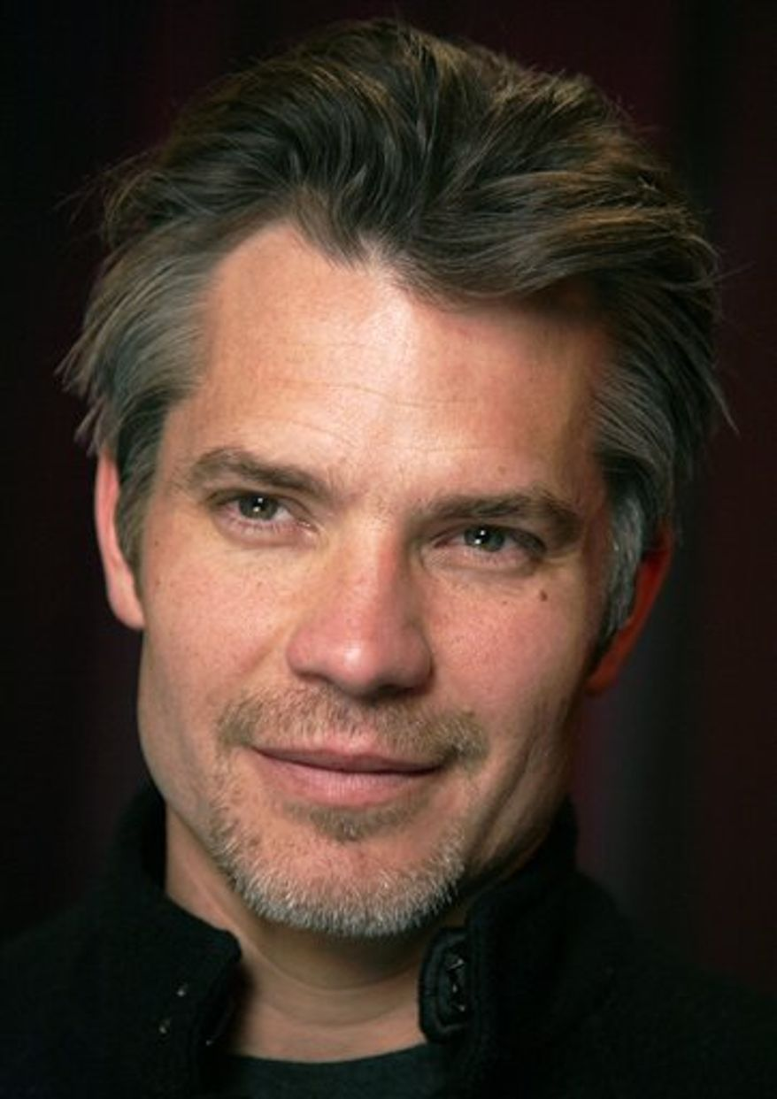 Actor Timothy Olyphant poses for a portrait Tuesday, Feb. 8, 2011 in New York.  (AP Photo/Jeff Christensen)