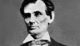 DISCOVERED DOCUMENTS: A new book shows President Lincoln pursued colonization of freed slaves. (Associated Press)