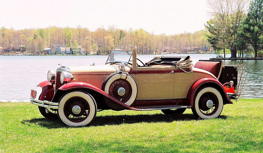 "There is no such thing as a bad angle to view this 1931 Chrysler ""New Series Six"" convertible coupe."
