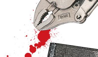 Illustration: Root canal by Greg Groesch for The Washington Times