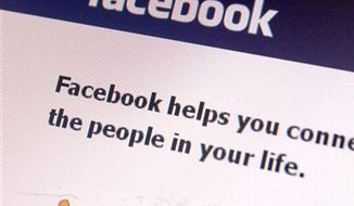 ** FILE ** A Facebook page is seen on a computer on Friday, Feb. 11, 2011 in Montpelier, Vt. (AP Photo/Toby Talbot)