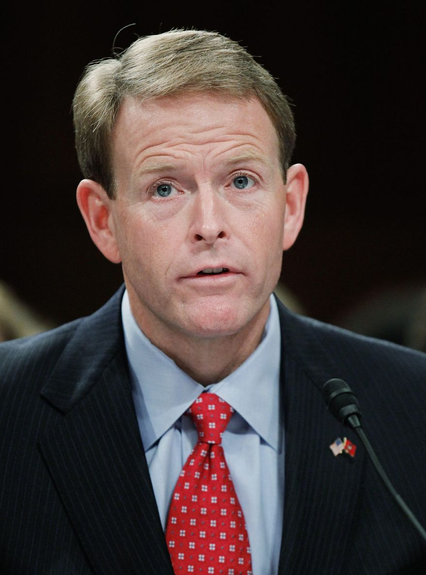 Tony Perkins, Family Research Council president, says liberals use the government like an ATM for causes the government should not be funding. (Associated Press)