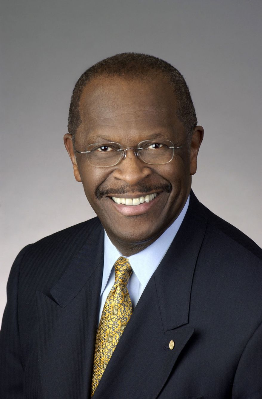 "A critic has labeled presidential hopeful Herman Cain a ""black conservative mascot"" following his speech before CPAC 2011. (Photo from Herman Cain Presidential Exploratory Committee)"
