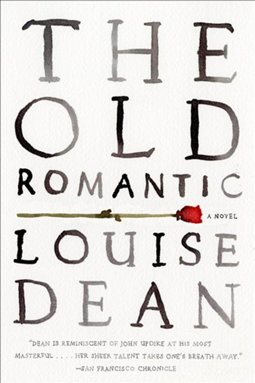 """In this book cover image released by Riverhead Books, """"The Old Romantic"""" by Louise Dean is shown. (AP Photo/Riverhead Books)"""
